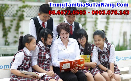 Tim gia su tieng anh lop 9